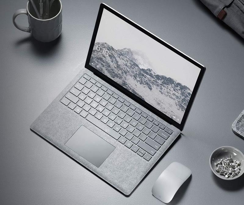 Microsoft เปิดตัว Surface Laptop ท้าชน Macbook