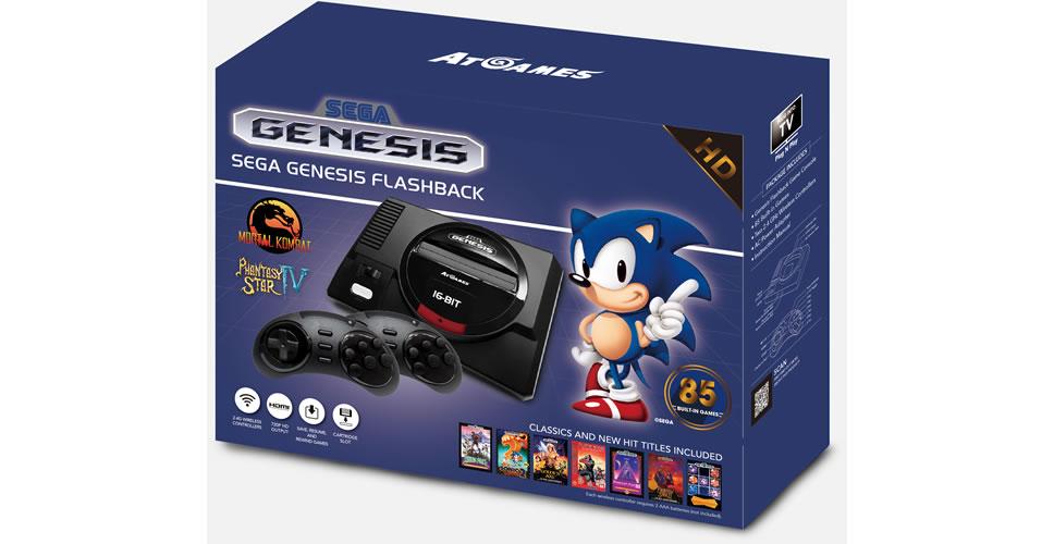 Atgames sega genesis classic 3 - Atgames sega genesis classic game console game list ...