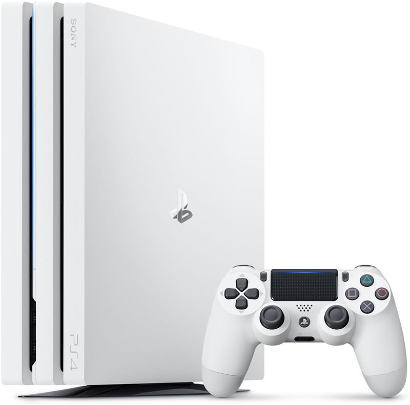 PlayStation4-Pro-Glacier-White