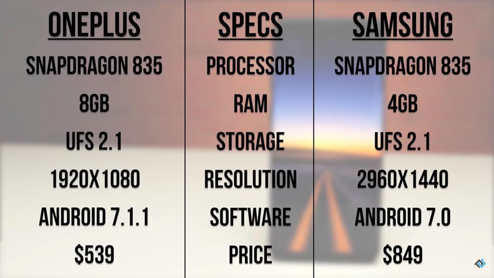 oneplus-5-vs-samsung-galaxy-s8-plus-spec
