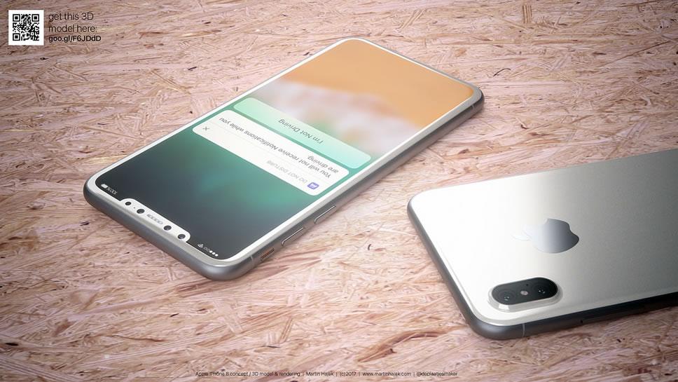 white-iphone-8