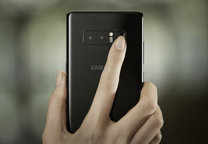 Galaxy Note8_Finger Print