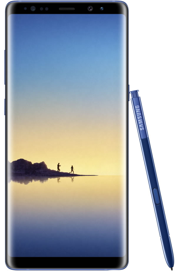 GalaxyNote8_Front_Pen_Blue_HQ