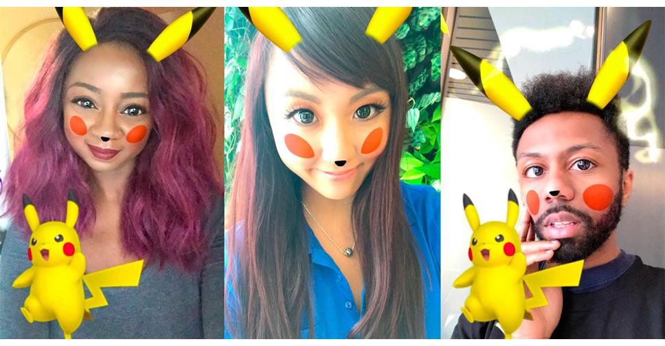 Snapchat-Pikachu