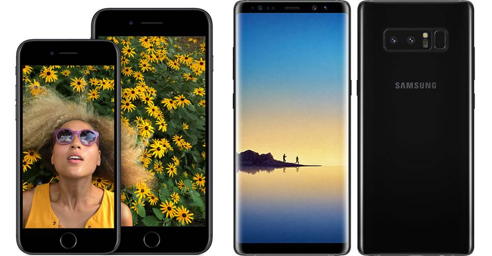 iphone-7-vs-galaxy-note-8