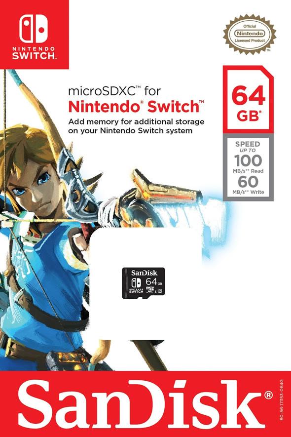 SanDisk-Nintendo-Switch-microSDXC-card-64GB
