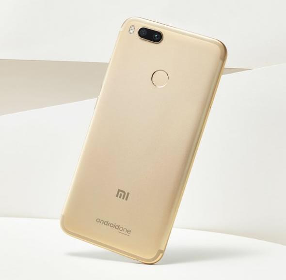 Xiaomi-Mi-A1-Gold