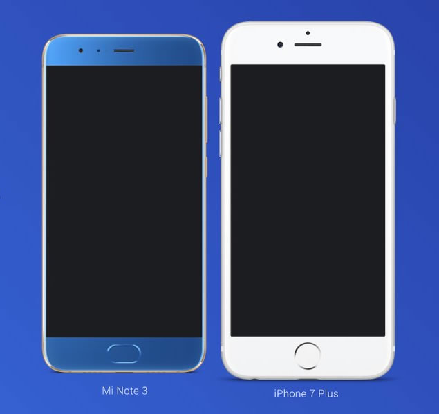 Xiaomi-Mi-Note-3-vs-iPhone-7-Plus