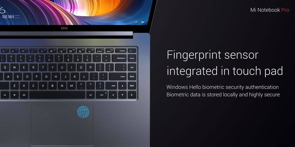 Xiaomi-Mi-Notebook-Pro-Fingerprint