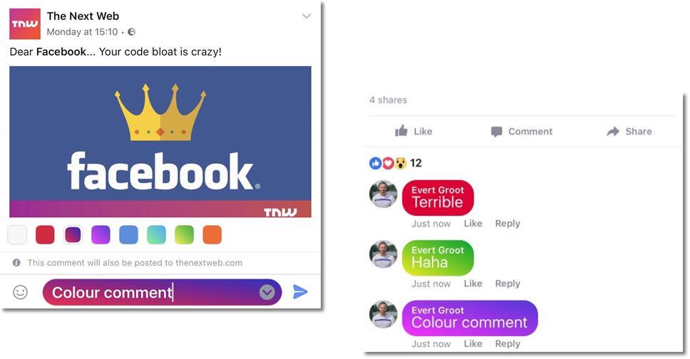 color-background-comment-facebook