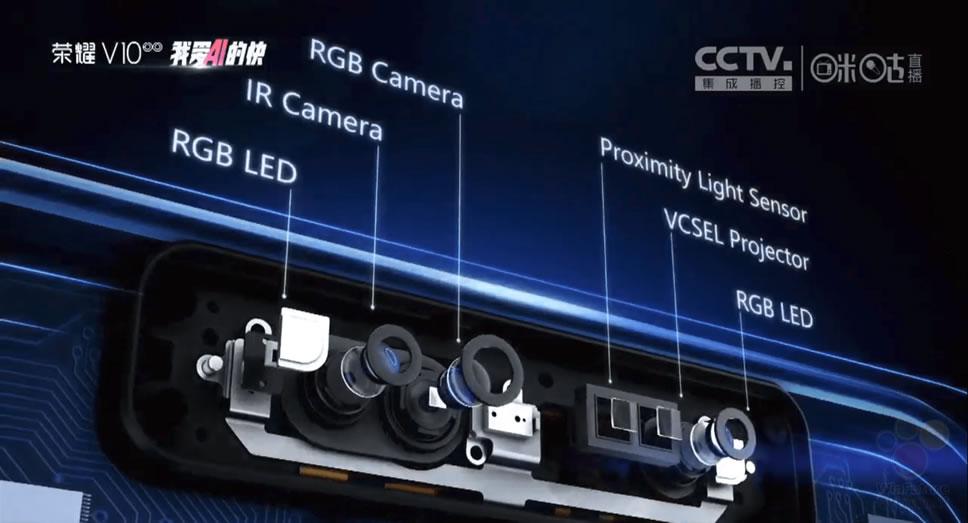 Honor-V10-3d-sensor