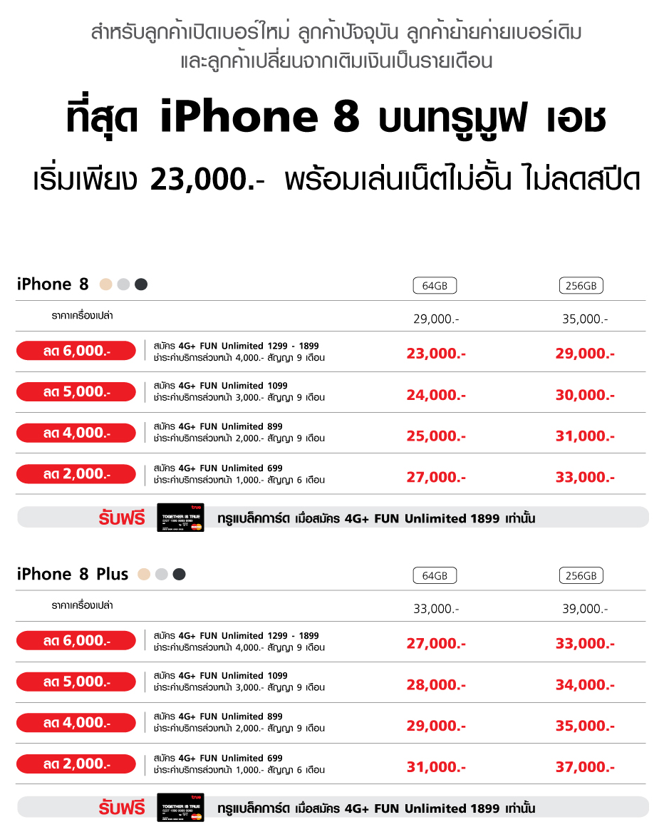 Promotion-iPhone8-truemoveH