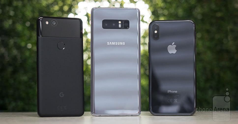 iPhone-X-vs-Galaxy-Note-8-vs-Pixel-2