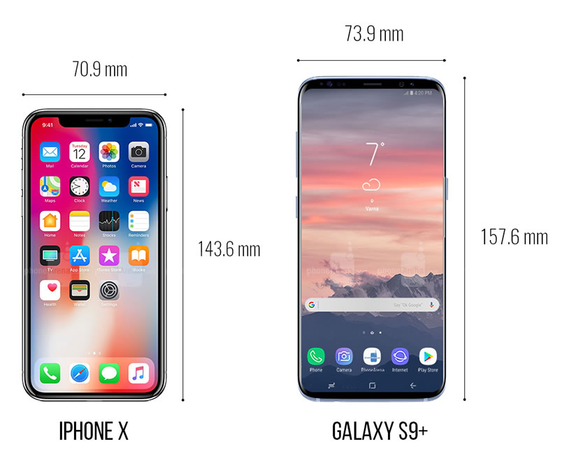 iphone-x-vs-galaxy-s9-plus