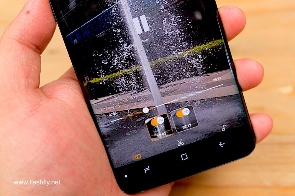 Samsung Galaxy S9 and Galaxy S9 + smartphones, F / 1 5