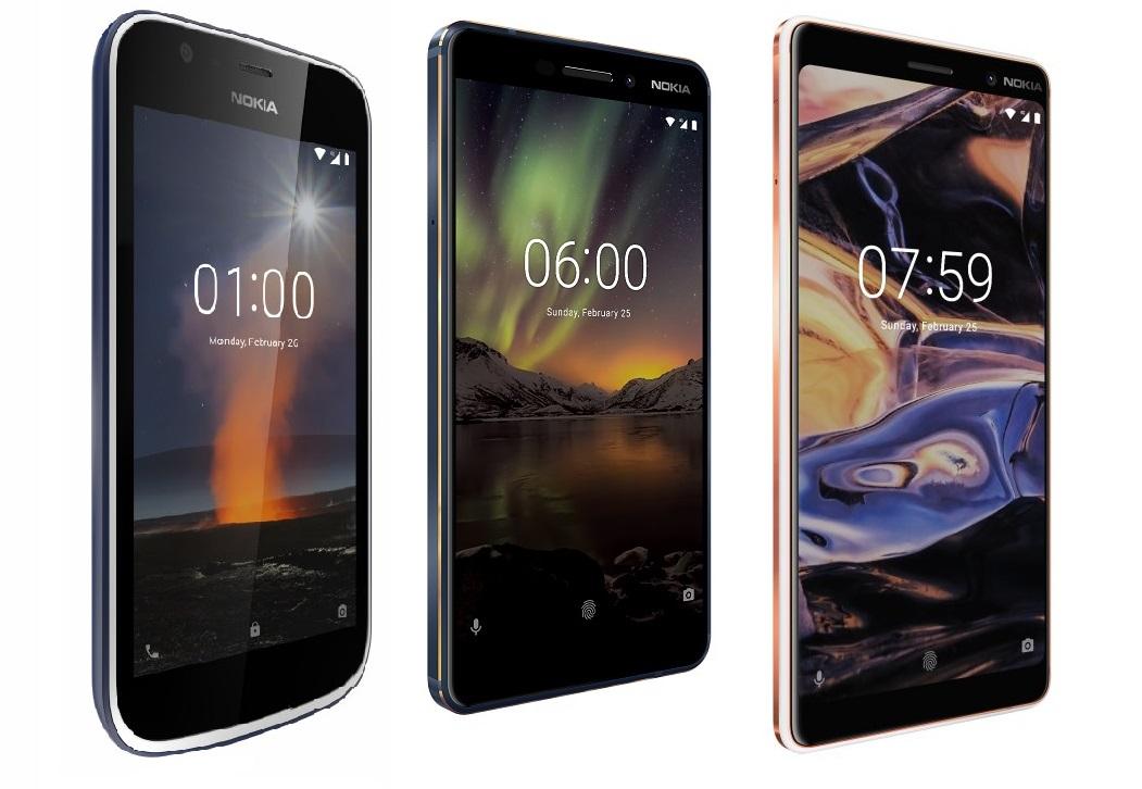 HMD ยกทัพสมาร์ทโฟน Nokia รุ่นใหม่ 3 รุ่นจากงาน MWC 2018 ...
