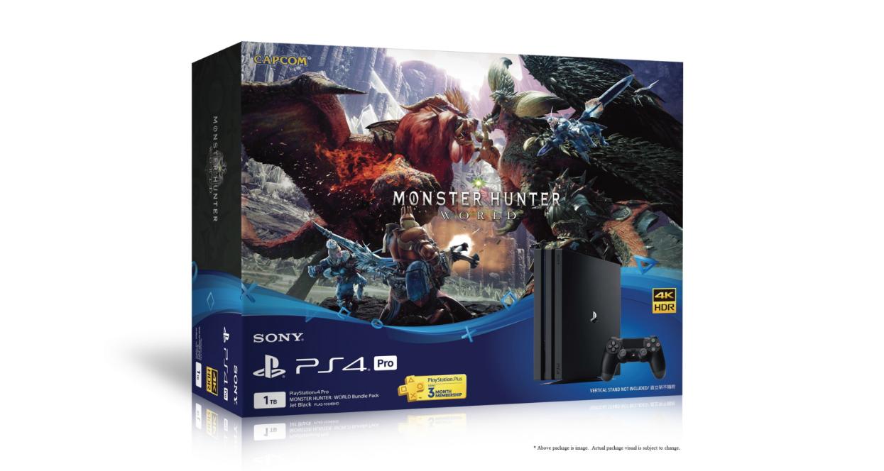 PS4 Pro ชุดพิเศษ MONSTER HUNTER: WORLD วางจำหน่ายในไทยแล้ว