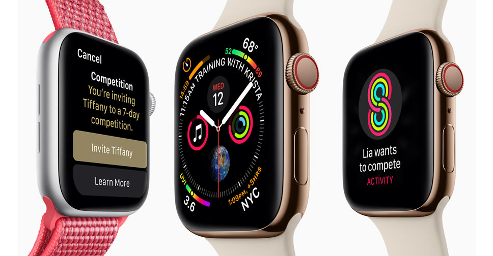 Apple Watch Series 4 พร้อมให้จับจองแล้ววันนี้ ราคาเริ่มต้น ...