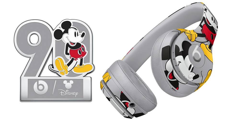 Apple เปิดตัวชุดหูฟังแบบเฮดโฟน Beats Solo3 Wireless รุ่นพิเศษฉลองครบรอบ 90 ปี Mickey Mouse ราคา 11,500 บาท