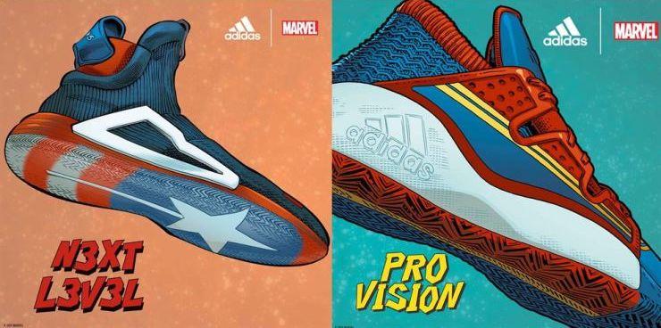 Adidas x Marvel เปิดตัวรองเท้าบาสเก็ตบอลคอลเล็กชั่น Heroes Among Us เกาะกระแสหนังดัง Avengers Endgame