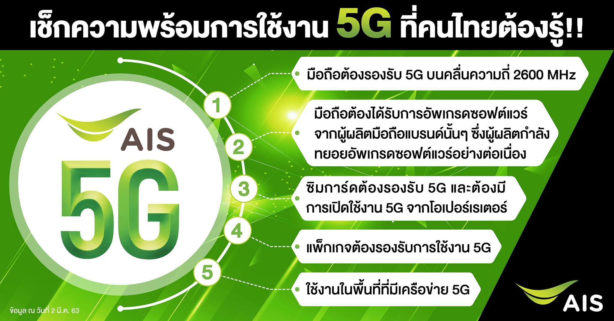 AIS เปิดให้บริการ 20G แล้ววันนี้ เป็นประเทศแรกที่ให้บริการ 20G บน ...