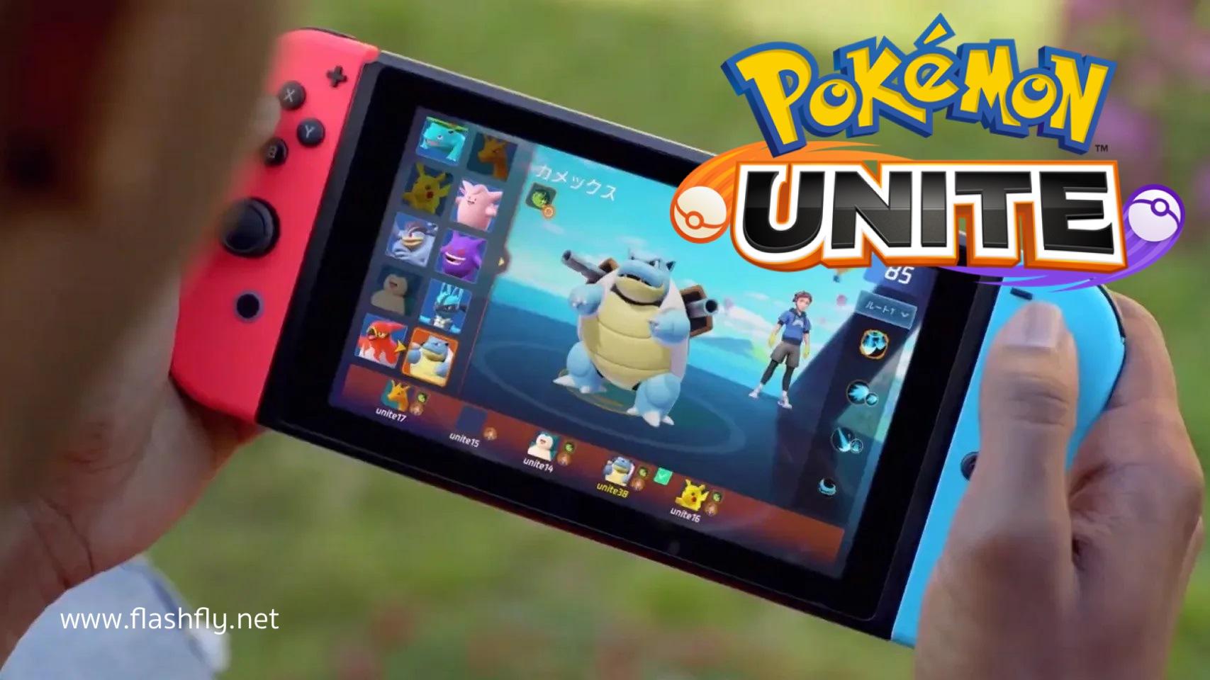 สุดฮือฮา!! Tencent เปิดตัวเกม Pokémon Unite แนว MOBA 5v5 จากทีม ...