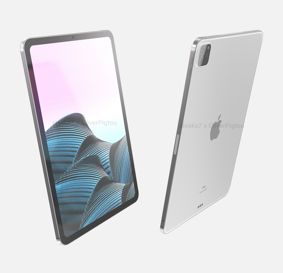 iPad Pro 2021 รุ่น 11 นิ้ว และ 12.9 นิ้ว ถูกปล่อยภาพ ...