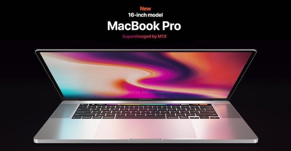 ชมคอนเซ็ปต์ MacBook Pro รุ่น 14 นิ้ว และ 16 นิ้วรุ่นใหม่ ...
